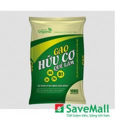 Gạo Hữu Cơ Quế Lâm túi 10kg