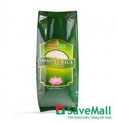 Gạo Jasmine Lotus Rice Gói 1kg