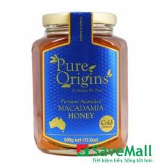 Mật Ong Pure Orgins Macadamia Hũ 500g