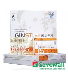 Nước Cốt Hồng Sâm Hàn Quốc Ginst15 Set 6 hộp x 42 gói