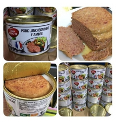 Pate Thịt Heo – Pork Luncheon Meat Hộp 200g